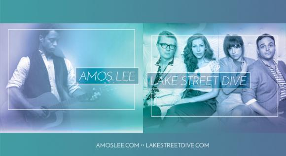 Amos Lee & Lake Street Dive at Meadow Brook Amphitheatre