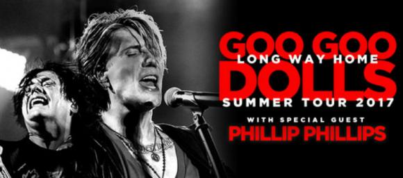 Goo Goo Dolls & Phillip Phillips at Meadow Brook Amphitheatre