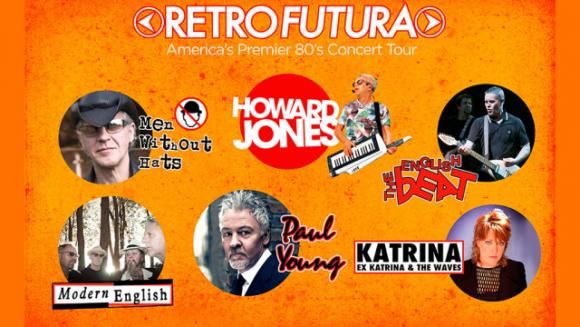 Retro Futura Tour at Meadow Brook Amphitheatre