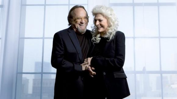 Stephen Stills & Judy Collins at Meadow Brook Amphitheatre