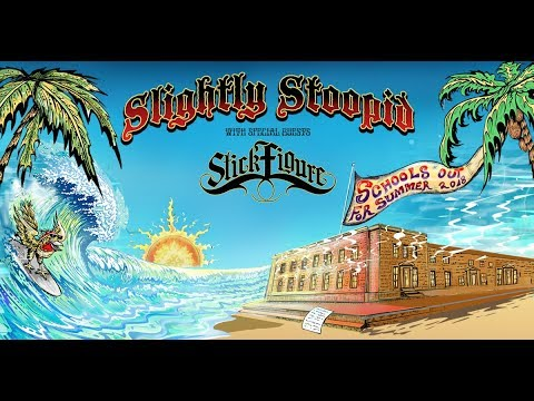 Slightly Stoopid, Stick Figure & Pepper at Meadow Brook Amphitheatre