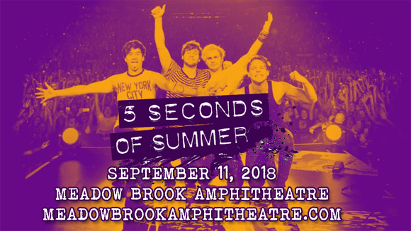 5 Seconds of Summer at Meadow Brook Amphitheatre