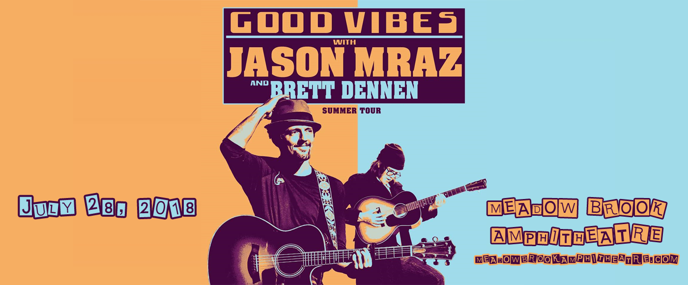 Jason Mraz at Meadow Brook Amphitheatre