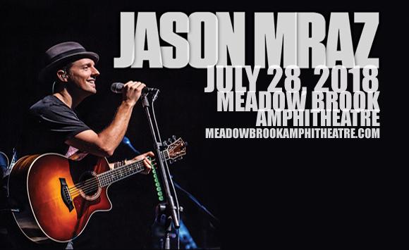 Jason Mraz at Meadow Brook Amphitheatre