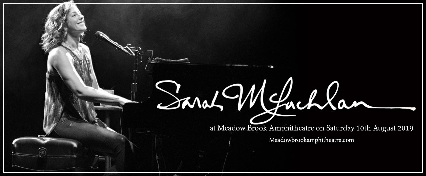 Sarah McLachlan at Meadow Brook Amphitheatre