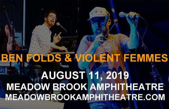 Ben Folds & Violent Femmes at Meadow Brook Amphitheatre