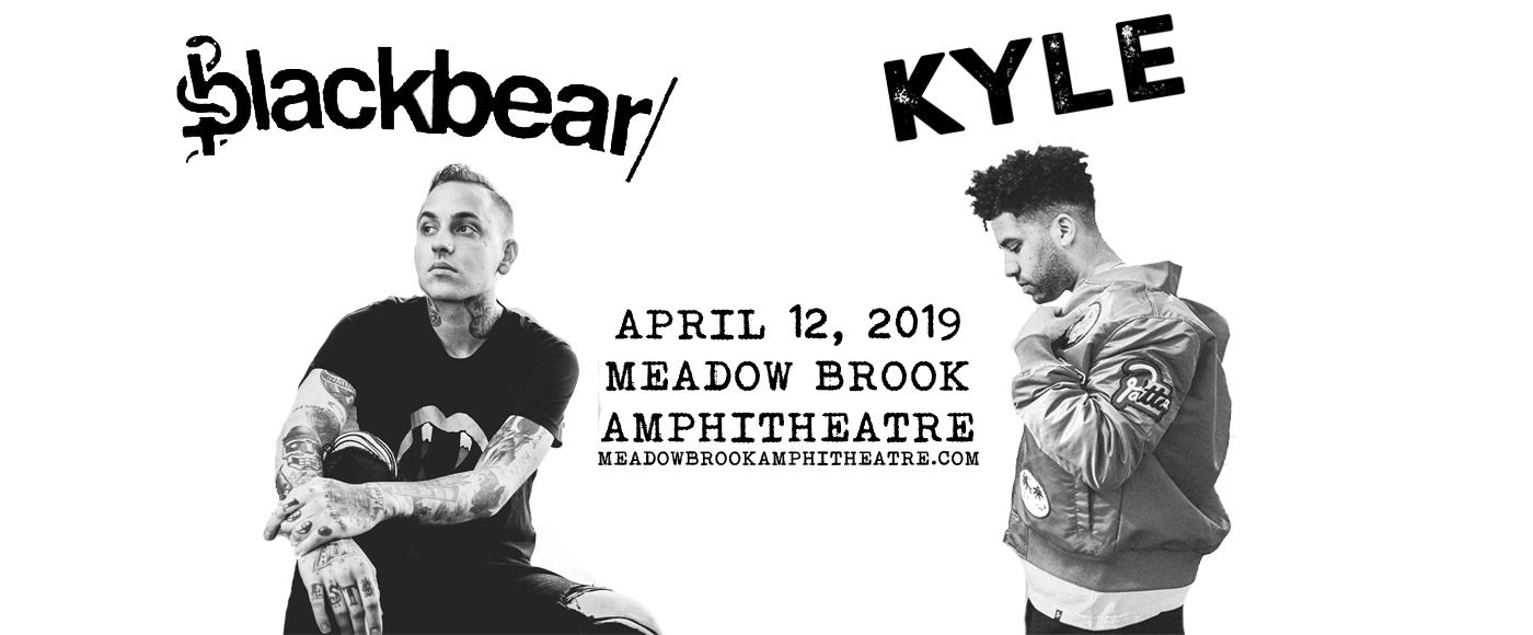 Blackbear & Kyle at Meadow Brook Amphitheatre