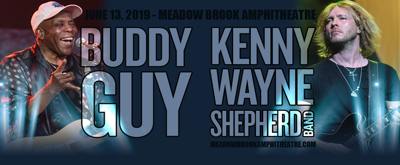 Buddy Guy & Kenny Wayne Shepherd Band at Meadow Brook Amphitheatre