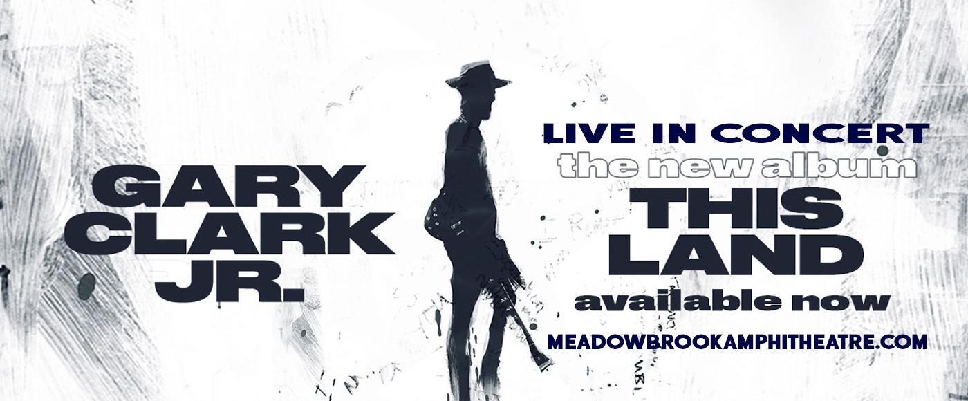 Gary Clark Jr. at Meadow Brook Amphitheatre