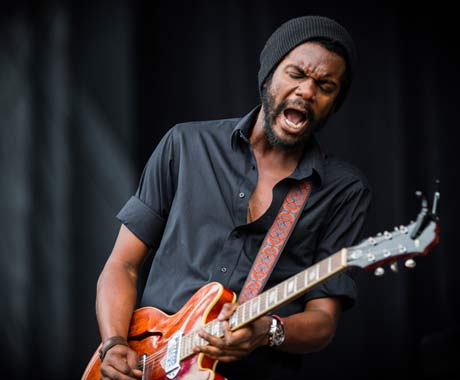 Gary Clark Jr. at Meadow Brook Amphitheatre