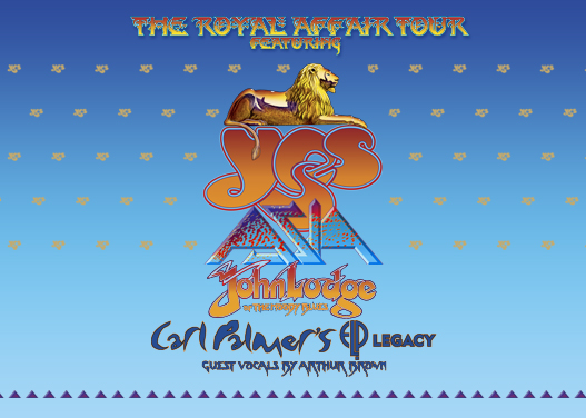 The Royal Affair: Yes, Asia, John Lodge & Carl Palmer's ELP Legacy at Meadow Brook Amphitheatre