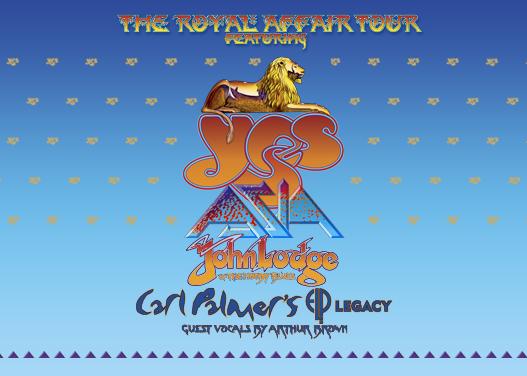 The Royal Affair: Yes, Asia, John Lodge & Carl Palmer's ELP Legacy at Meadow Brook Amphitheatre