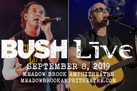 Live, Bush & Our Lady Peace at Meadow Brook Amphitheatre