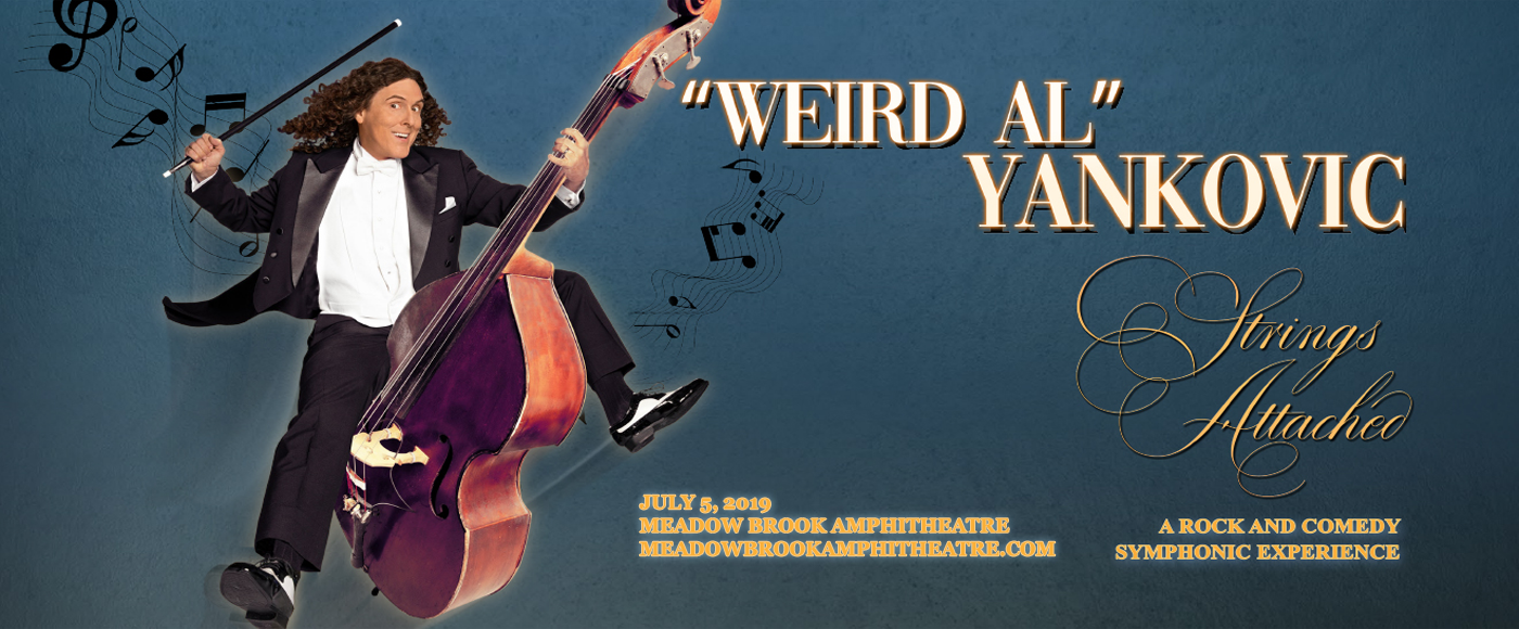 Weird Al Yankovic at Meadow Brook Amphitheatre