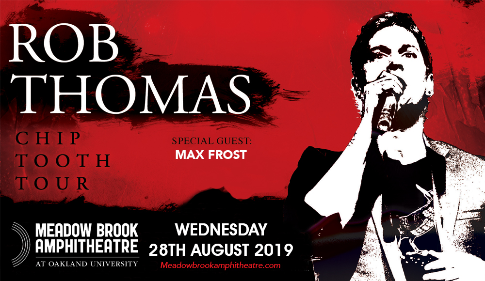 Rob Thomas at Meadow Brook Amphitheatre