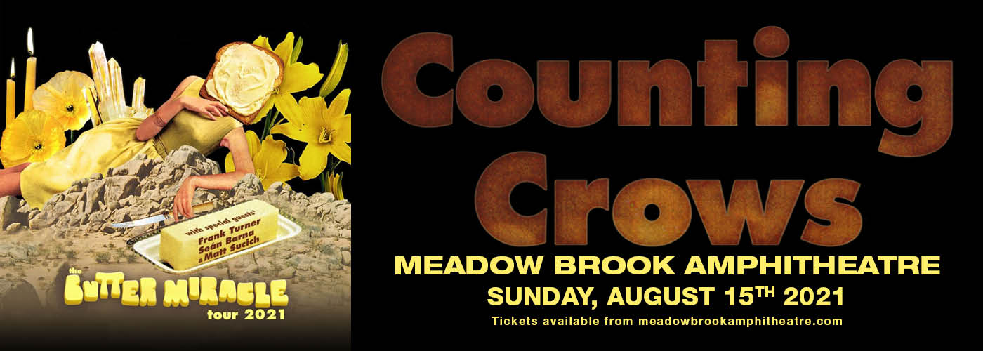 Counting Crows: The Butter Miracle Tour at Meadow Brook Amphitheatre