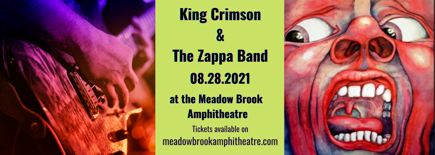 King Crimson & The Zappa Band at Meadow Brook Amphitheatre